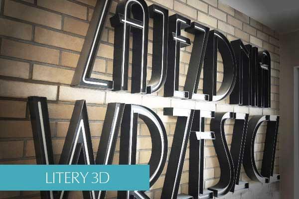 Litery 3D gdynia